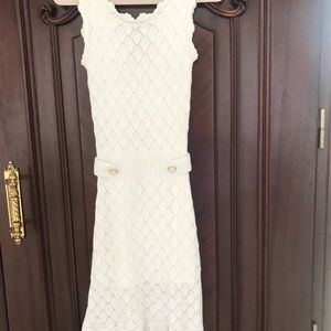 Lilly Pulitzer Dresses - White knitted dress